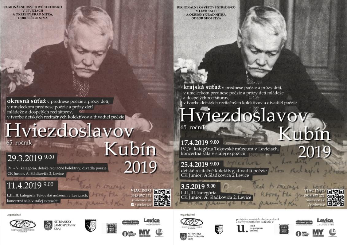 78a9b39d0 Tekovské múzeum v Leviciach. Hviezdoslavov Kubín 2019