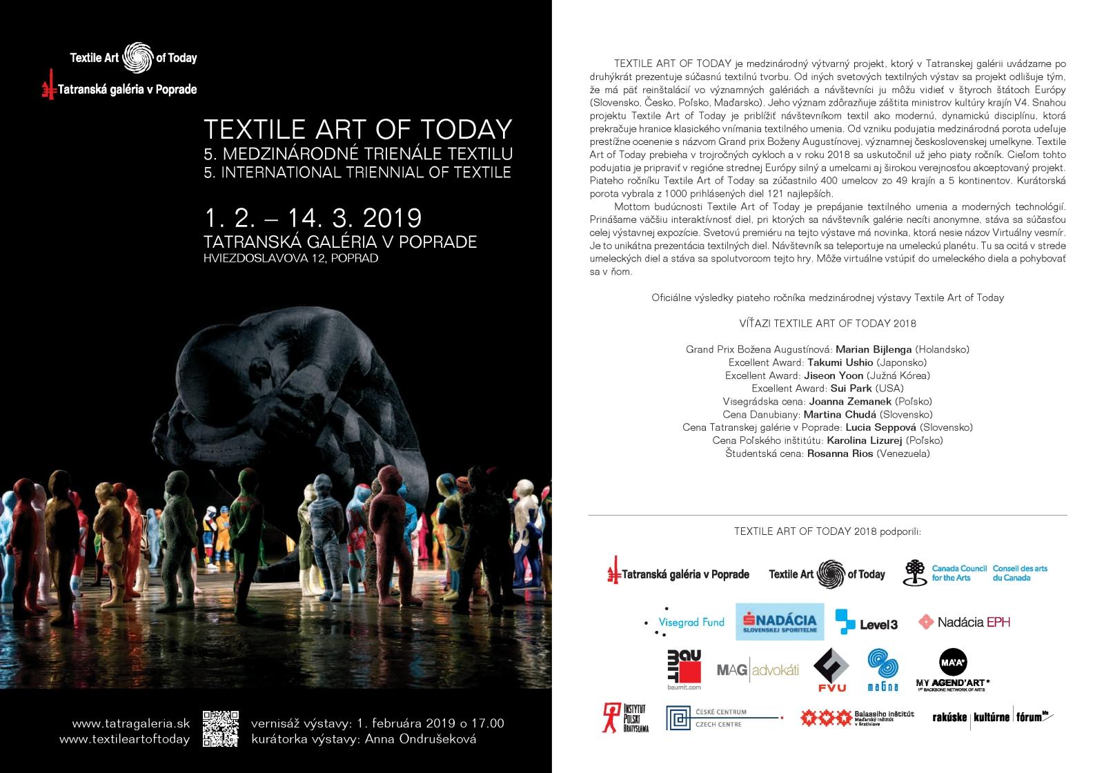 efb01cce9 Textile Art of Today - 5. Trienále textilu