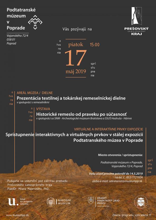 937674bf229c Podtatranské múzeum v Poprade